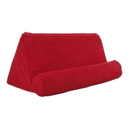 "SaharaCase - Pillow Tablet Stand - for Most Tablets up to 12.9"" - Red - Sahara Case LLC"