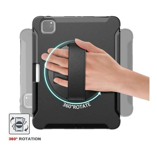 "SaharaCase - Protection Case for Apple iPad Pro 12.9"" (4th Generation 2020) - Black - Sahara Case LLC"