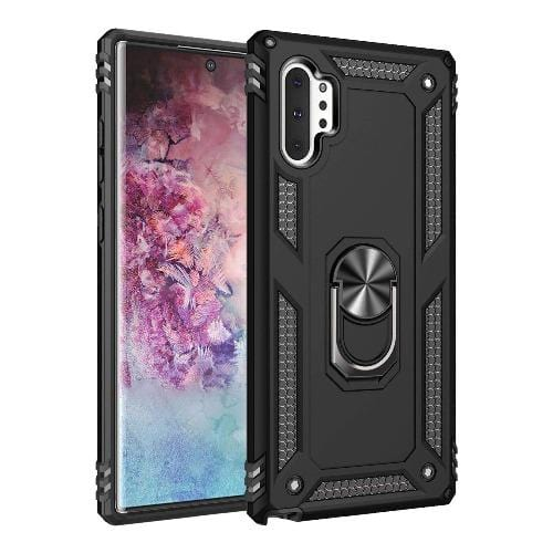 SaharaCase - Protection Series Case for Samsung Galaxy Note10+ and Note10+ 5G - Black - Sahara Case LLC