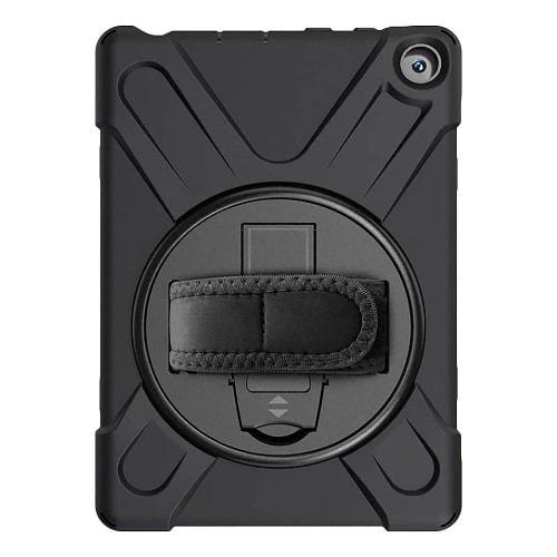 SaharaCase - Protective Case - for Amazon Kindle Fire HD 8 2020 and HD 8 Plus 2020 - Black - Sahara Case LLC