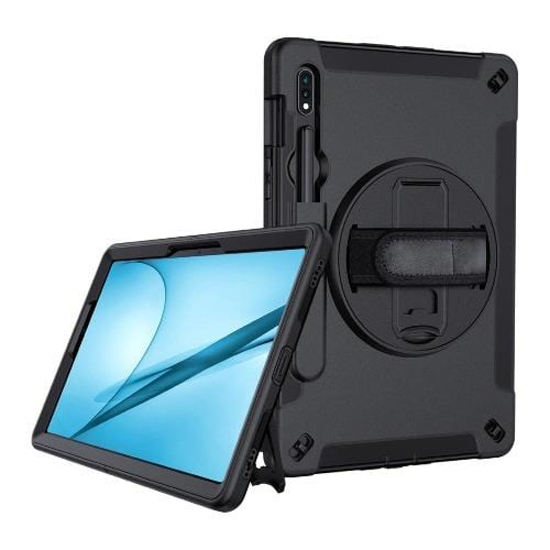 SaharaCase - Protective Case for Samsung Galaxy Tab S7 Plus - Black - Sahara Case LLC