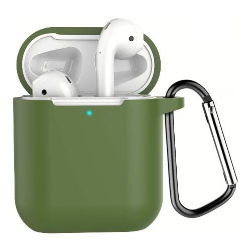 SaharaCase Protective Case Kit for Airpods 1 & 2- Military Green - Sahara Case LLC