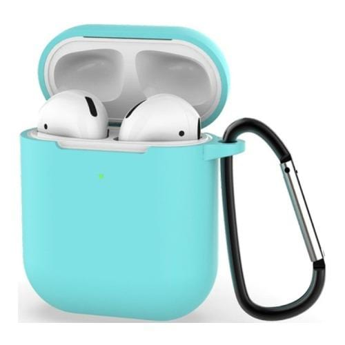 Aqua Teal AirPods Case - Silicone Case Kit