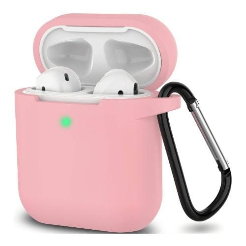 SaharaCase Protective Case Kit for Airpods 1 & 2 - Pink - Sahara Case LLC