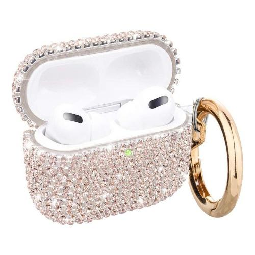 Gold Rhinestone AirPods Pro Case and Kit