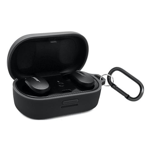 SaharaCase - Silicone Case - for Bose QuietComfort Earbuds - Black - Sahara Case LLC