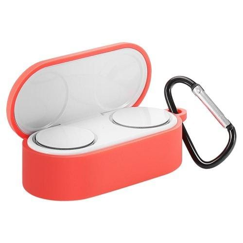 SaharaCase - Silicone Case for Microsoft Surface EarBuds - Red - Sahara Case LLC