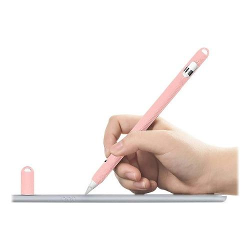 SaharaCase - Silicone Grip Case - for Apple Pencil (2nd Gen 2018) - Pink - Sahara Case LLC