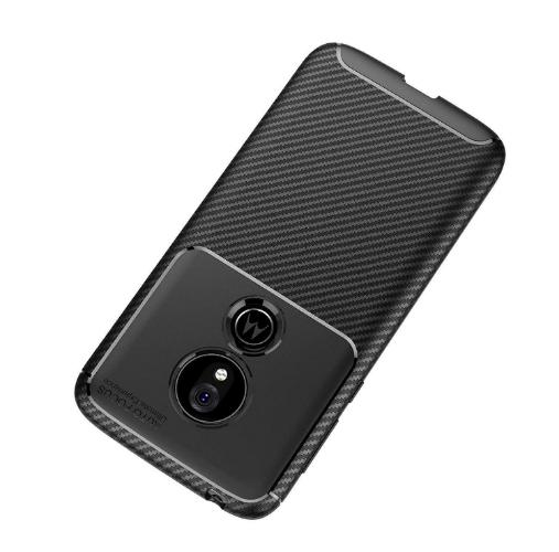 SaharaCase Slim-fit Protection Series Case - for Motorola G7 Power Black - Sahara Case LLC