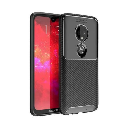 SaharaCase Slim-fit Protective Case - Motorola G7 Scorpion Black - Sahara Case LLC
