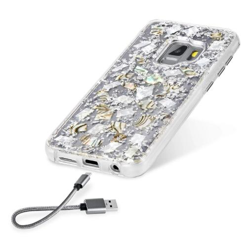 SaharaCase Sparkle Series Case Only Case - Samsung Galaxy S9 Clear Sparkle - Sahara Case LLC