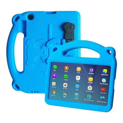 SaharaCase - Teddy Bear KidProof Case for Samsung Galaxy Tab A 8.0 (2019) T290 - Blue - Sahara Case LLC