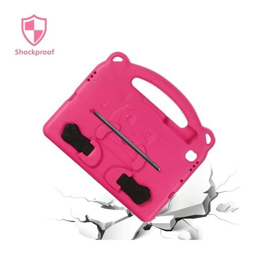 SaharaCase Teddy Bear KidProof Case - for Samsung Galaxy Tab S6 Lite - Pink - Sahara Case LLC
