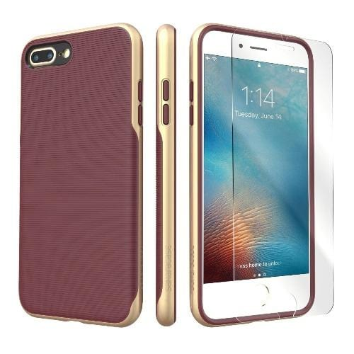 SaharaCase - Trend Series Case - iPhone 8/7 Plus - Saffron Gold - Sahara Case LLC
