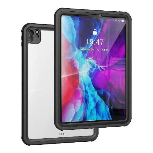 "SaharaCase - Water-resistant Case for Apple iPad Pro 12.9"" (4th Generation 2020) - Black - Sahara Case LLC"