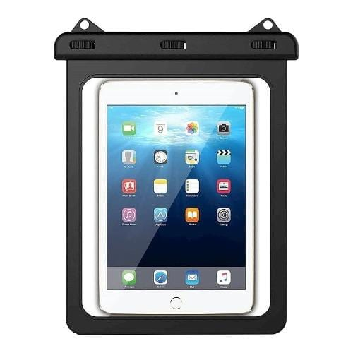 "SaharaCase - Water-Resistant Case - for Most Tablets up to 11"" - Black - Sahara Case LLC"