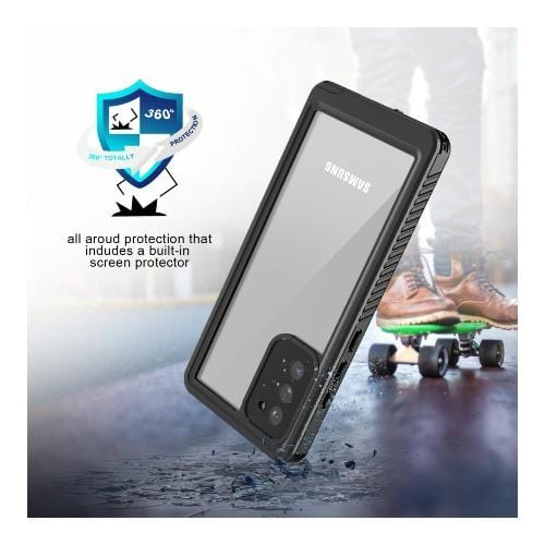 SaharaCase - Water-Resistant Case - for Samsung Galaxy Note 20 5G - Black - Sahara Case LLC