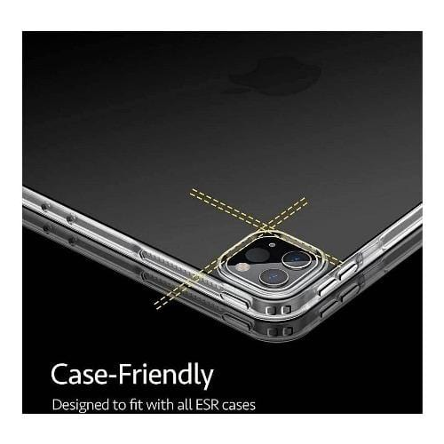 "SaharaCase - ZeroDamage Tempered Glass Lens Hood for Apple iPad Pro 11"" (2nd Generation 2020) Camera Lenses - Clear - Sahara Case LLC"