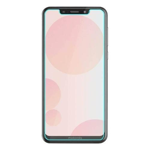SaharaCase - ZeroDamage Tempered Glass Screen Protector for Motorola One Action - Clear - Sahara Case LLC