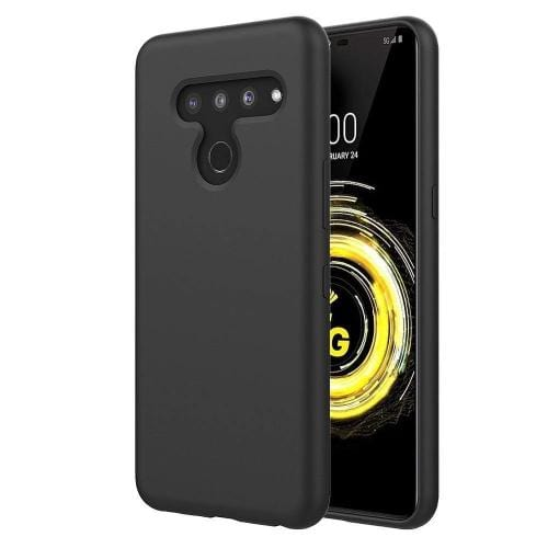 SaharaCase Classic Series Case - for LG V50 ThinQ – Black - Sahara Case LLC