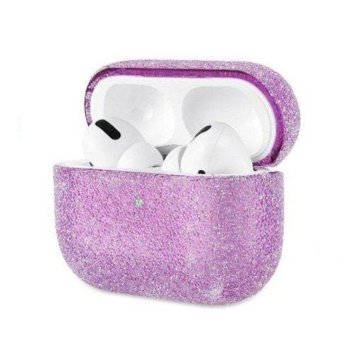 Purple Glitter AirPods Pro Case - Sparkle Case