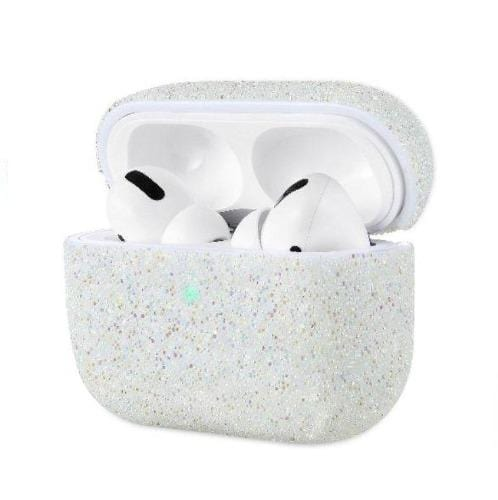 Sparkle Case Apple Airpods Pro White - Sahara Case LLC