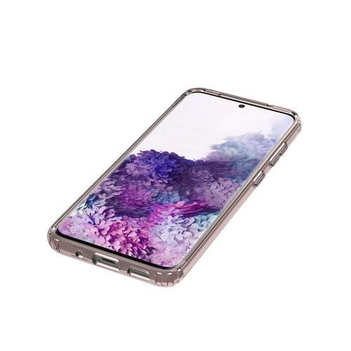 SaharaCase - Crystal Series Transparent Case - Galaxy S20 - Clear Rose Gold - Sahara Case LLC