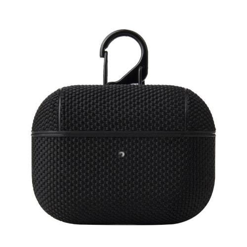 Textured Black AirPods Pro Case - Textured Weave Case Series