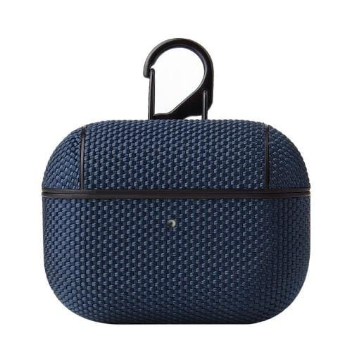 Textured Blue AirPods Pro Case - Textured Weave Case Series