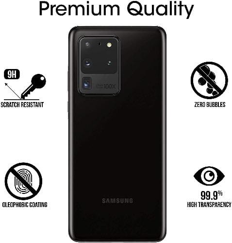 ZeroDamage Camera Lens Protector (2 Pack) - Samsung Galaxy S20 Ultra 5G - Sahara Case LLC