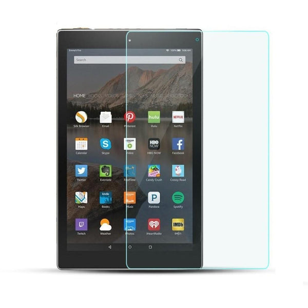ZeroDamage Glass Screen Protector - Amazon Kindle Fire HD 10 - Clear - Sahara Case LLC