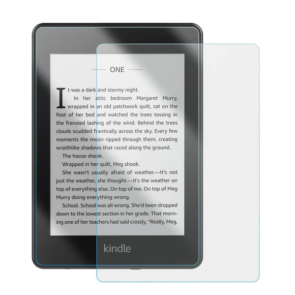 ZeroDamage Glass Screen Protector - Amazon Kindle Paperwhite 3 - Clear - Sahara Case LLC