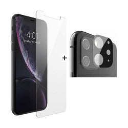 "ZeroDamage Glass Screen Protector + Camera Glass Protector iPhone 11 6.1"" - Sahara Case LLC"