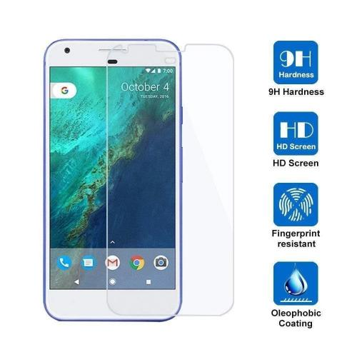 ZeroDamage Glass Screen Protector - Google Pixel 1 XL - Transparent - Sahara Case LLC