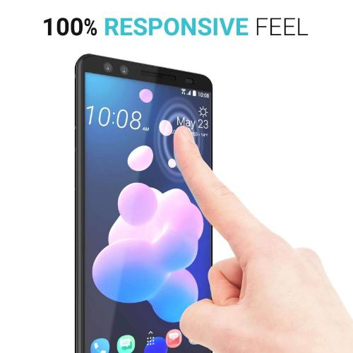 ZeroDamage Glass Screen Protector - HTC U12+ - Clear - Sahara Case LLC