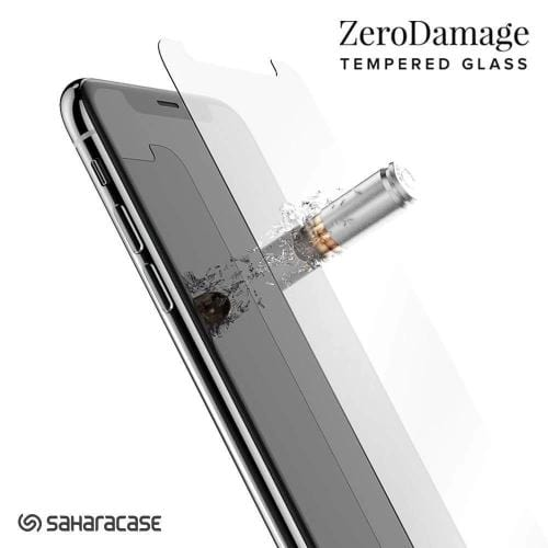 "ZeroDamage Glass Screen Protector - iPhone 11 Pro Max & XS Max 6.5"" - Sahara Case LLC"