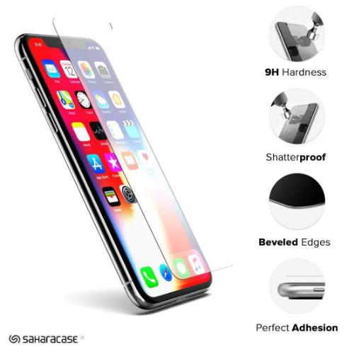 "ZeroDamage Glass Screen Protector Kit - Apple iPhone 11 Pro & X & XS 5.8"" - Sahara Case LLC"