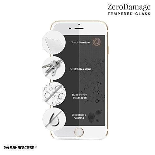 ZeroDamage Glass Screen Protector Kit - iPhone 8/7/6 Plus - Sahara Case LLC