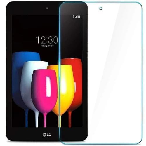"ZeroDamage Glass Screen Protector - LG G Pad X2 Plus 8"" - Clear - Sahara Case LLC"