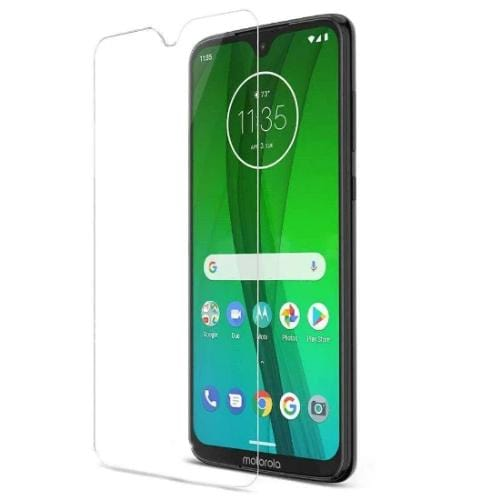 ZeroDamage Glass Screen Protector - Motorola G7 - Clear - Sahara Case LLC