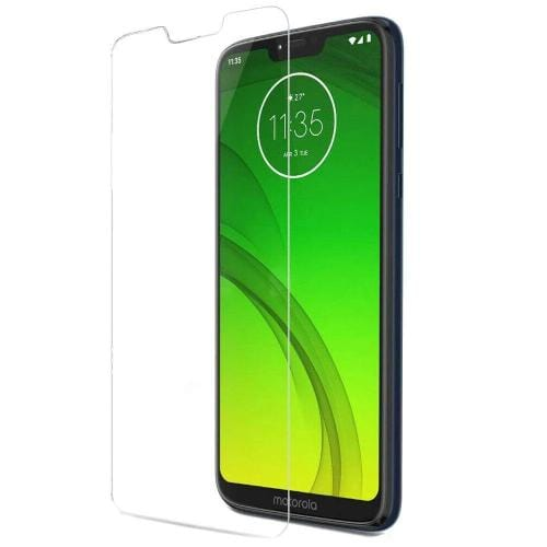 ZeroDamage Glass Screen Protector - Motorola G7 Power - Clear - Sahara Case LLC