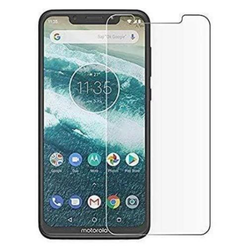 ZeroDamage Glass Screen Protector - Motorola One - Clear - Sahara Case LLC