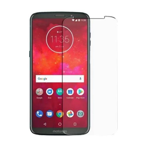 ZeroDamage Glass Screen Protector - Motorola Z3 Play - Clear - Sahara Case LLC
