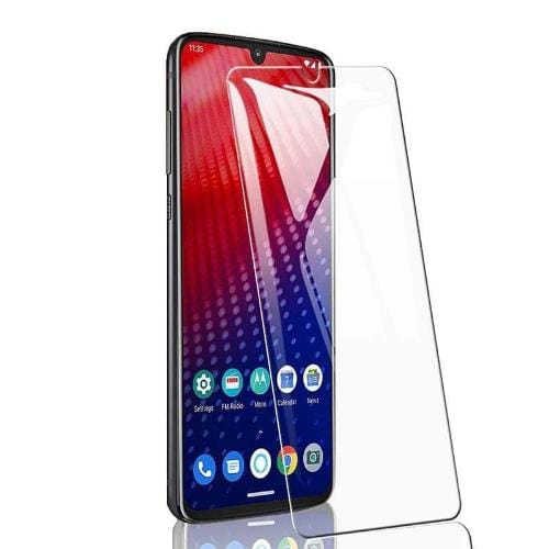 ZeroDamage Glass Screen Protector - Motorola Z4 - Clear - Sahara Case LLC