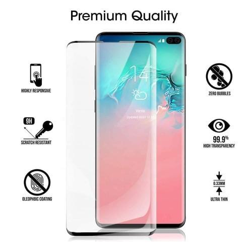 ZeroDamage Glass Screen Protector - Samsung Galaxy S10 5G - Clear - Sahara Case LLC