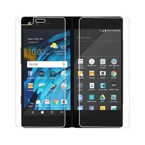 ZeroDamage Glass Screen Protector - ZTE Axon M - Clear - Sahara Case LLC