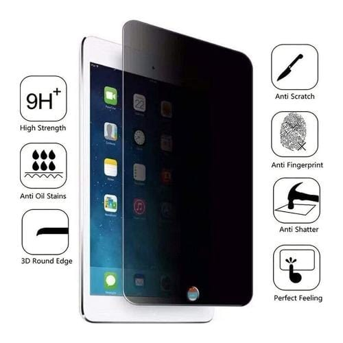 "ZeroDamage - iPad 10.2"" - Privacy Tempered Glass Screen Protector - Sahara Case LLC"