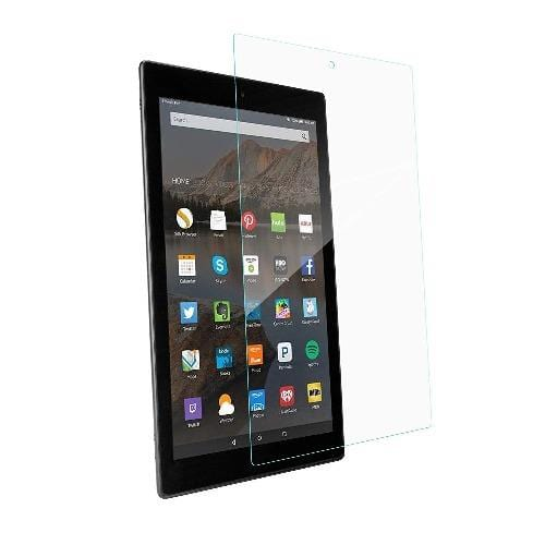 ZeroDamage - Kindle Fire HD 10 (2019) - Tempered Glass Screen Protector - Sahara Case LLC