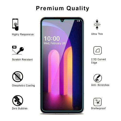 ZeroDamage - LG V60 - Tempered Glass Screen Protector - Sahara Case LLC