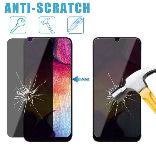 ZeroDamage Privacy Glass Protector Samsung Galaxy A20 - Sahara Case LLC